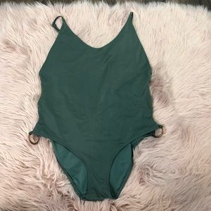 Aerie green bathing suit